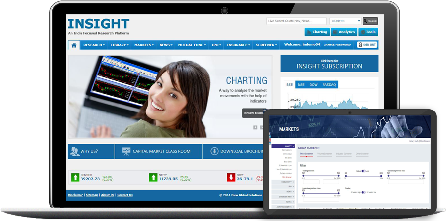 Stock Market Data, Content and Financial Research Solutions